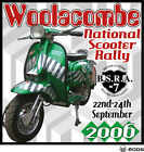 2006 NATIONAL SCOOTER RALLY PATCHES NOT PADDY SMITH LAMBRETTA VESPA SCOOTERBOY