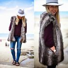 ZARA NEW COLLECTION 2014. GREY FUR WAISTCOAT VEST JACKET GILET. BLOGGERS.