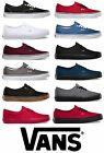 Vans Classics Authentic NEW All Sizes Canvas Mens/Women