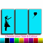 Balloon Girl Banksy Treble Canvas Wall Art Picture Print 2