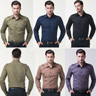 2015 Fashion Mens Man Military Style Polos Long Sleeves Casual Formal T Shirts