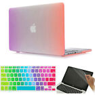 """3item Rainbow Design Rubberized Hard Case Cover for Macbook Air Pro 11"""" 13"""" 15"""""""