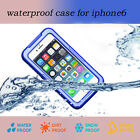 "Ski Diving Waterproof Water Snow proof Cover Cases For iPhone 6 4.7"" Plus 5.5"" A"
