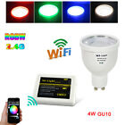 Milight 2.4G 4W GU10 RGBW RGB Warm White/RGB Cool White WIFI Controll Bulb Light