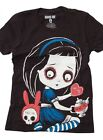 Akumu Ink Temptation Of Alice Tshirt Tee  Horror Gothic Punk