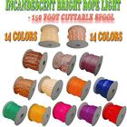 150 Foot Rope Light 2 Wire 110V Lighting Outdoor Patio Cabinet Christmas - 1/2""