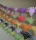Crepe Paper Hand Fringed Hand Made Ceiling Decoration Party Christmas Streamer