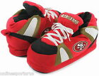 San Francisco 49ers Slippers Hi Top Boot Sneaker Style