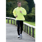 Precision Training Running Rain Jacket Fluo Yellow/Silver 100% Water-repellent