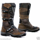 FORMA WATERPROOF ADVENTURE BROWN MOTORCYCLE ENDURO TOURING ATV QUAD BIKE BOOTS