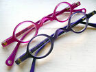 MOJOS Small Fun Round Reading Glasses Scojo NY Purple/Periwinkle Magenta/Fucshia
