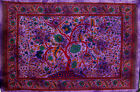 -35% 4Colour DOUBLE ORIENTAL LANDSCAPE Hippy THROW Sofa BEDSPREAD Wall hanging