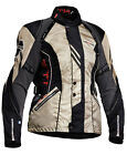 LINDSTRANDS MANDY LADIES MOTORCYCLE JACKET GREENY BEIGE CHEAP SALE CLEARANCE