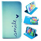 Smile Luxury Wallet Flip wallet card leather case for SamSung Iphone Nokia