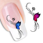 3D Nail Art Water Transfer Decal Sticker Manicure Nail Polish Decals Tips DIY