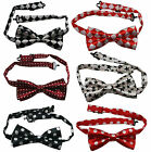 1 Pcs Boys' Polyester Bow Tie for Kids Children Bow Tie Neck Tie Style Optional