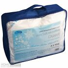 Homescapes 4.5 Tog Washable Microfibre Duvet Single Double king Superking Size
