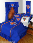 New York Knicks Bed in a Bag Twin Full Queen King Size Comforter Set