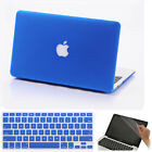 """3in1 Royal Blue Frosted Matt Hard Case Skin for MacBook Air White Pro 11"""" 13 15"""""""