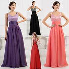 SEXY Long Evening dress Formal Party Ballgown Prom Bridesmaid Maxi Dresses 6-18+
