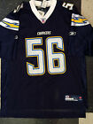NFL Shawne Merriman #56 San Diego Chargers Home Reebok Jersey NEW with tags $59.99 USD on eBay