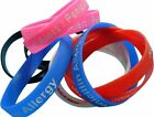 Penicillin Allergy Patient  Silicone Medical Help WristBands 2 bands pack