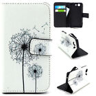 Dandelion wallet Card Holder Leather Case Stand Cover for Various phone YH