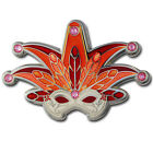 Mardi Gras Venetian Mask Geocoin For Geocaching – Three Versions Available