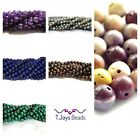 6mm Semi Precious Gemstone Rounds Beads Jewellery Making (approx 60-66 beads)