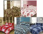 Duvet/Quilt Cover With Pillow Case Bed Bedding Set Single Double King Size