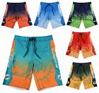 NFL Football Men's 2015 Gradient Print Board Shorts Beach Swimsuit - Pick Team