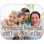 PERSONALIZED MOUSE PAD CUSTOM PRINTED PHOTO TEAM LOGO BOY GIRL FAMILY (PM-01)