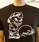 Narcotics Anonymous -  Pissing On Addiction  T-Shirt  - S-5X 100% cotton