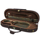 NEW Sky Violin Halfmoon Case VNCHM Lightweight with Hygrometer Multiple Colors