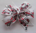 Hello Kitty Dance, Ballet Hair Bows - Pinwheel Bow, Clips Or Bobbles