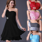 FREE SHIP Sexy One Shoulder Homecoming Evening Party Prom Bridesmaid Short Dress