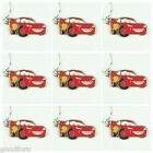 9pcs Disney Car Lightning McQueen Necklace Boys Girls Birthday Party Favor Gift