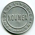 New Caledonia - nd(1922)  Banque De L'Indo-Chine  25c  Token