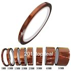 5/10/20/30/40/50mm X100ft High Temperature Heat Resistant Polyimide Kapton Tape