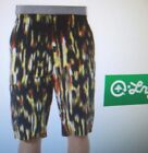 NEW LRG Lifted Research Group  black orange yellow cargo straight long shorts 38