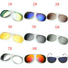 8 Colors Men/Women Polarized UV400 Lens Clip-on Flip-up Myopia SunGlasses TK8