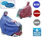 Kozee Komforts Mobility Scooter Rain Cape Cover Waterproof Standard & Mini Aid