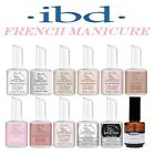 ibd Just Gel French Manicure Colours - Pink / White / Top / Base / PowerBond