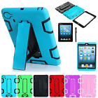 Shockproof Heavy Duty Hard Case with Stand Cover for iPad Mini 1 2 3 with Retina