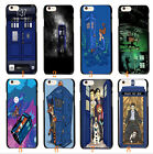 little mermaid Doctor Who Tardis Police Call Box Hard Case Cover For iphone 4 4s