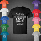 Mother's day present world's greatest mom Funny t shirt tank top