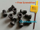 100pcs Insert Torx Screw for Carbide Inserts Lathe Tool & Screwdriver M1.6 to M4