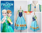 Disney Frozen Fever Cinderella New Short ANNA Dress Cosplay Costume For Adult