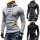 Mens Winter Warm Casual Jackets Sweatshirt Male Hooded Jacket Coat Hoodies TOP