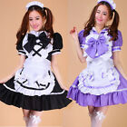 Hot Beauty Uniforms Cosplay Party Costume Sexy Bow Cos Dress Sailor Maid Outfit